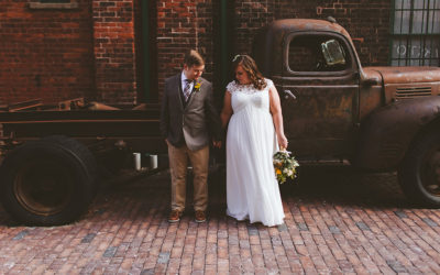 Distillery District Wedding :: Erin + Nick