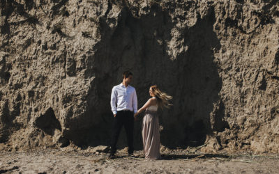Scarborough Bluffs Engagement Shoot | Steph + Ryan